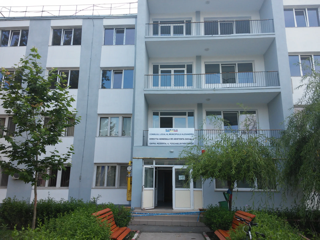 DGAS - Centrul rezidential al persoanelor fara adapost